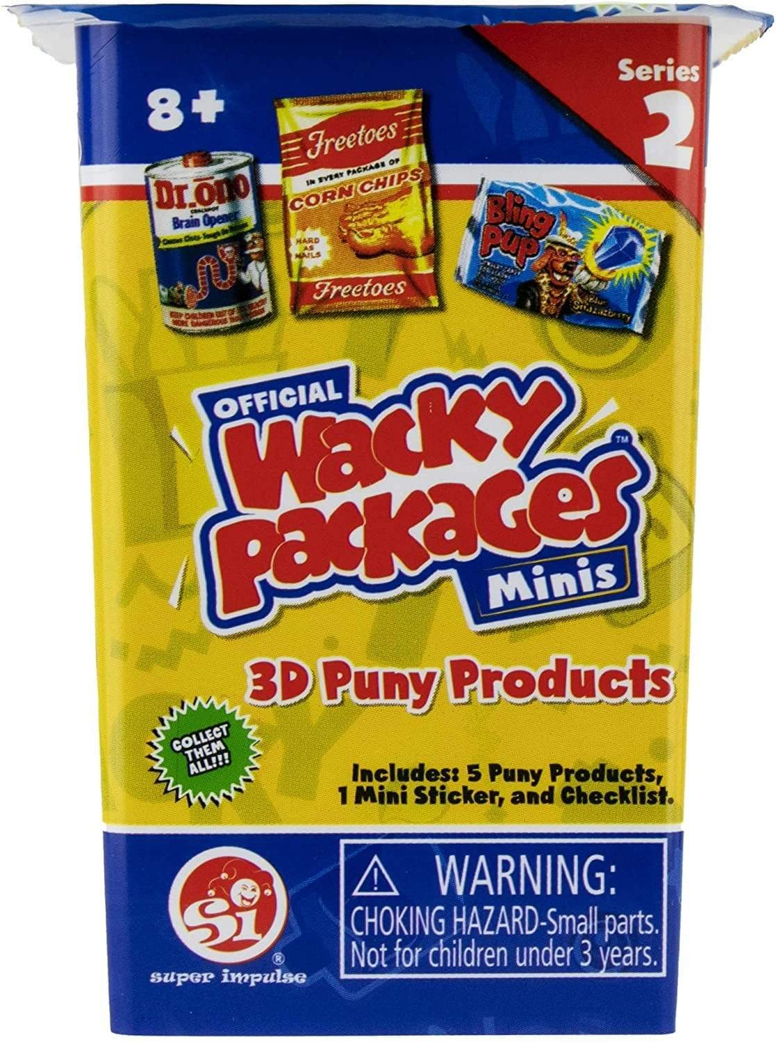 Wacky Packages: Blind Cup Minis Series 2 Super Impulse Puzzles/Playthings
