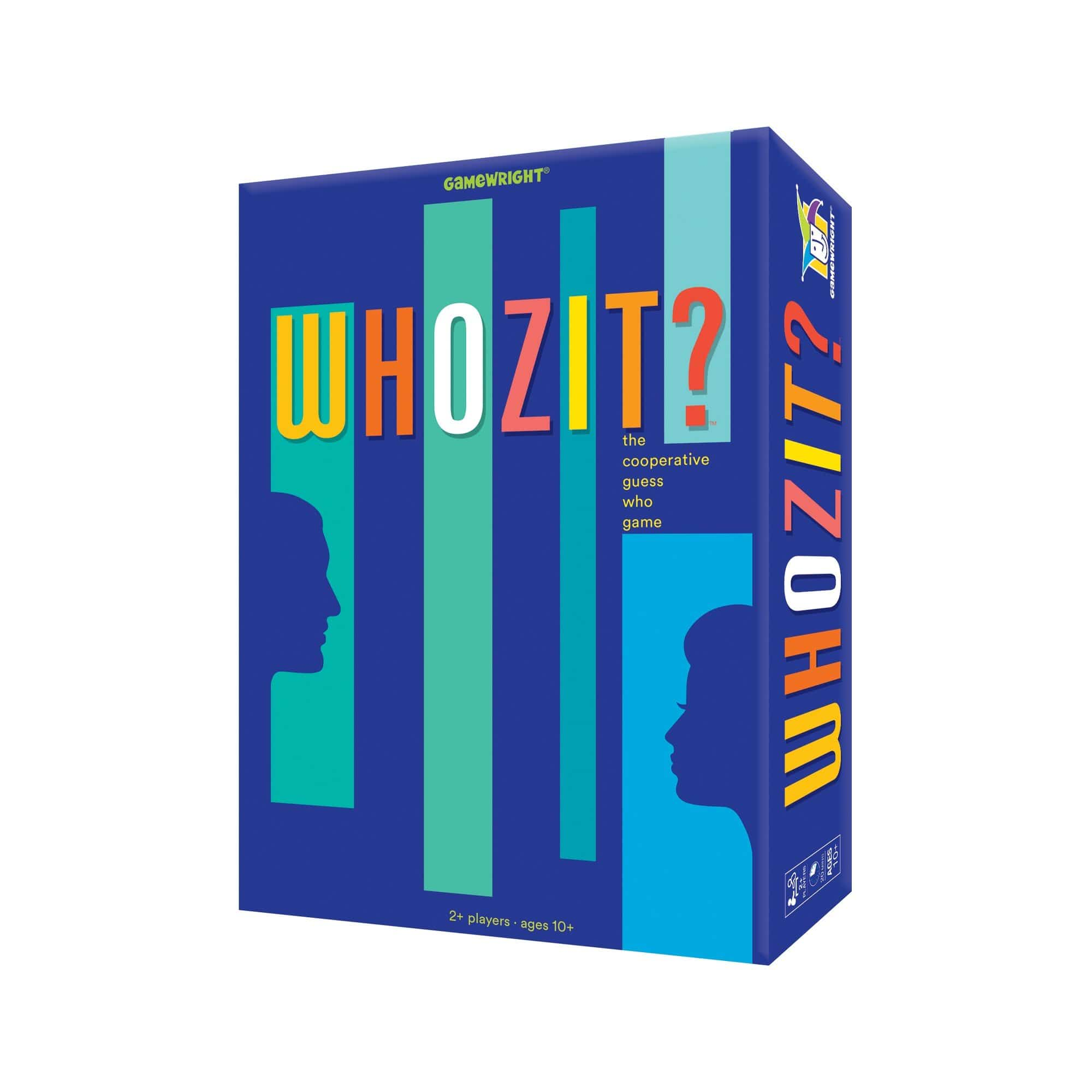 Whozit? Gamewright Board Games