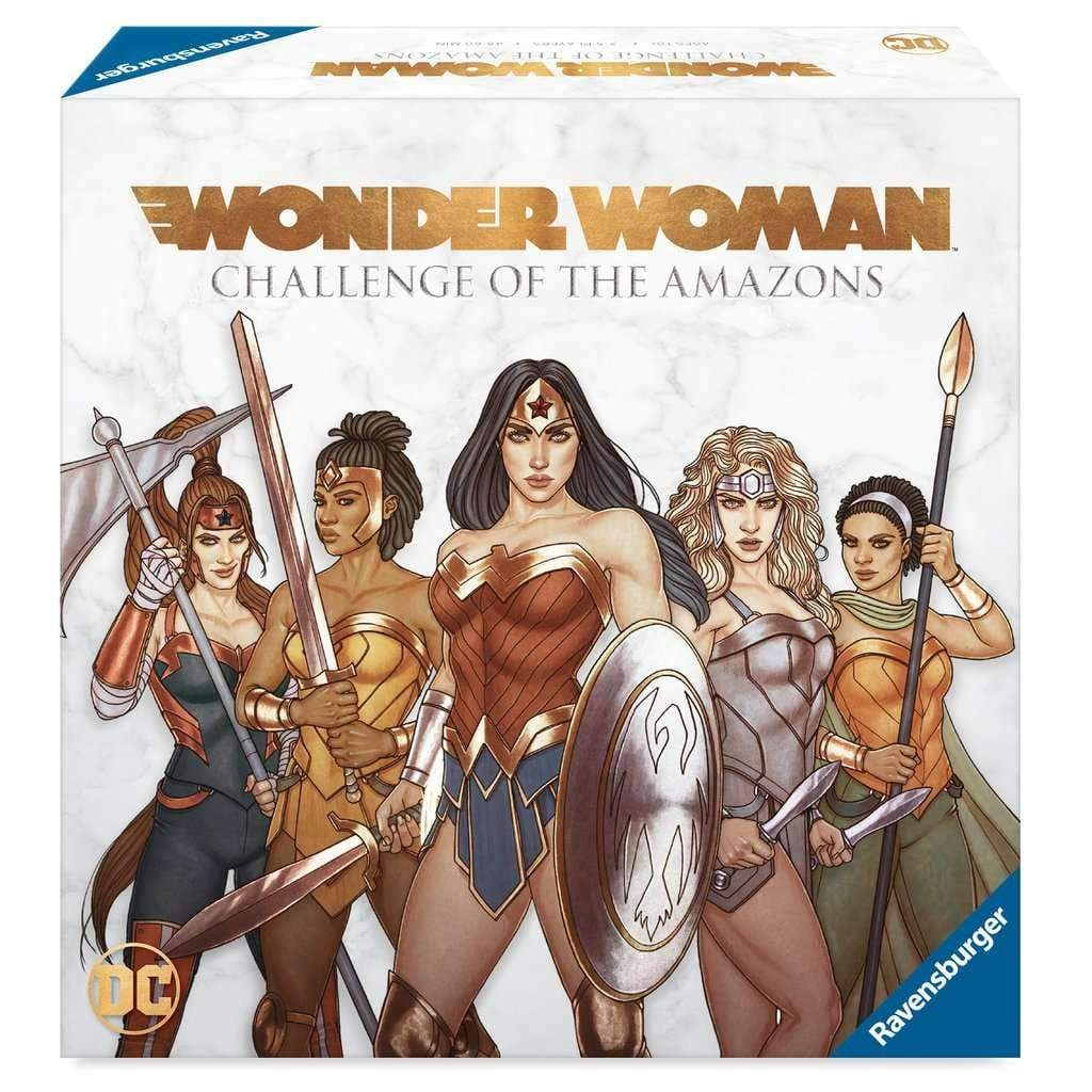 Wonder Woman: Challenge of the Amazons Ravensburger Board Games