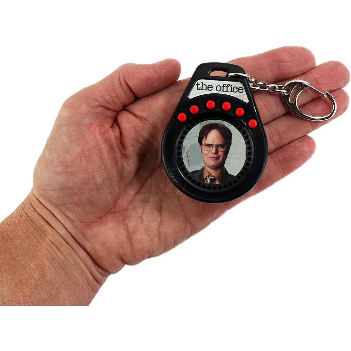 World's Coolest: The Office Dwight Talking Keychain Super Impulse Puzzles/Playthings