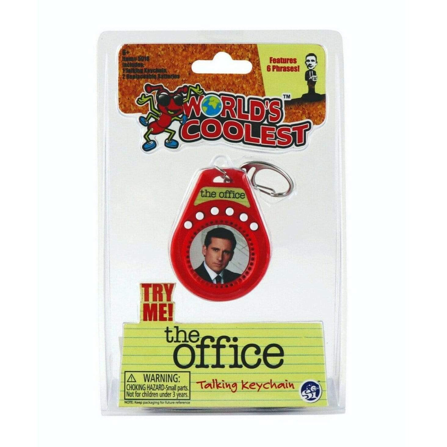 World's Coolest: The Office Talking Keychain Super Impulse Puzzles/Playthings