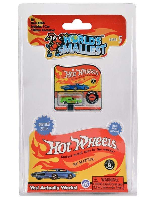 World's Smallest: Hot Wheels Series 5 Super Impulse Puzzles/Playthings