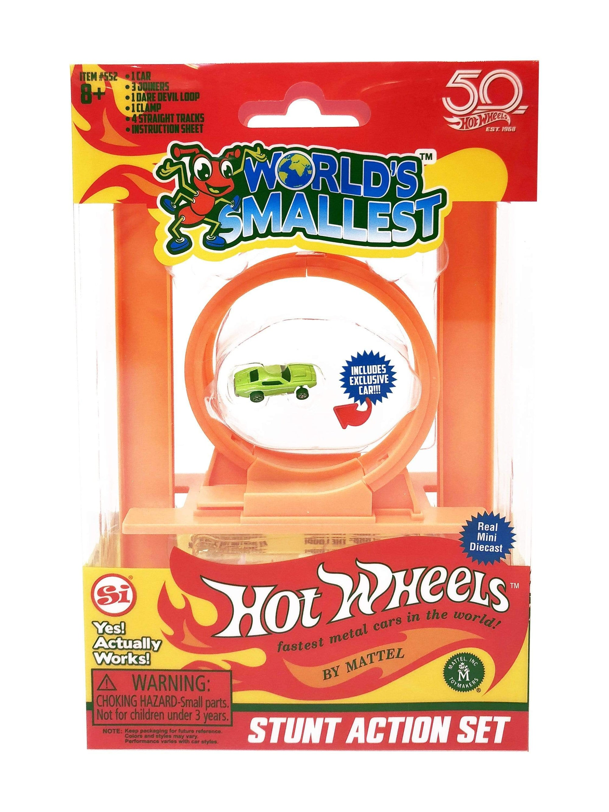World's Smallest: Hot Wheels Stunt Action Set Super Impulse Puzzles/Playthings