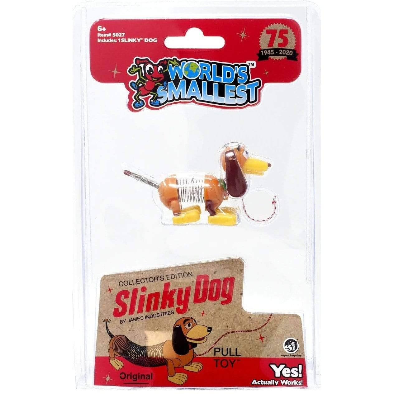 World's Smallest: Slinky Dog Super Impulse Puzzles/Playthings