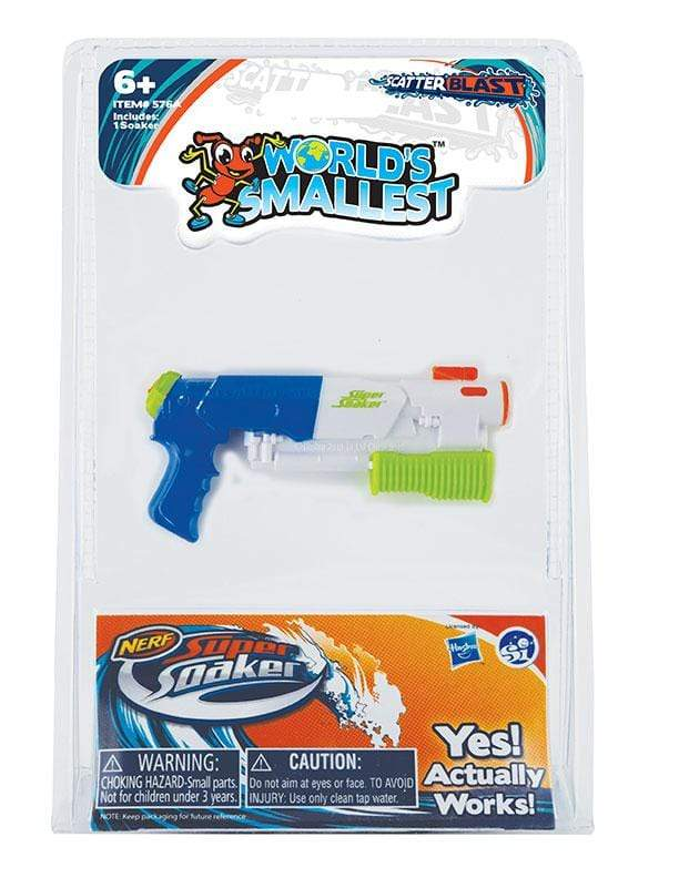 World's Smallest: Super Soaker Super Impulse Puzzles/Playthings