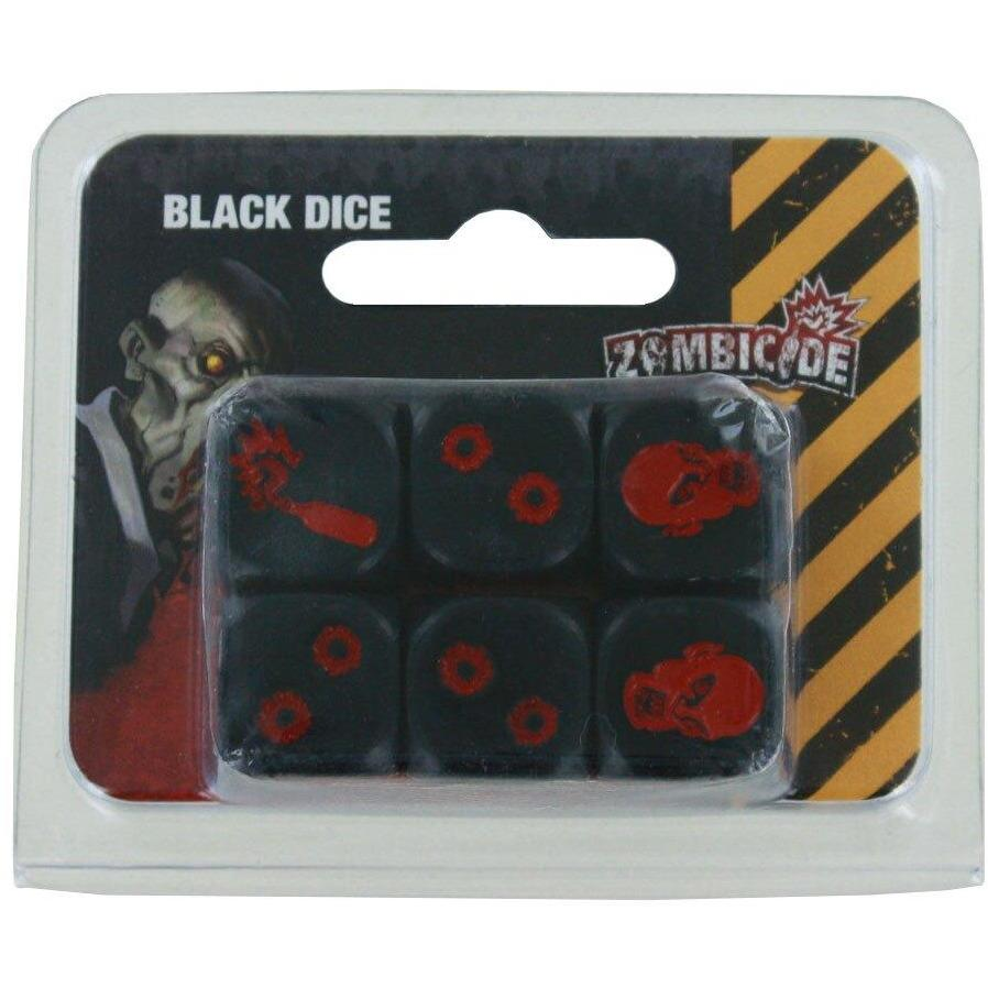 Zombicide: Dice - Black Alliance Games Board Games