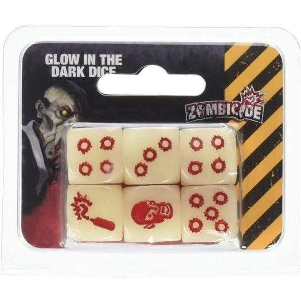 Zombicide: Dice - Glow in the Dark Alliance Games Board Games