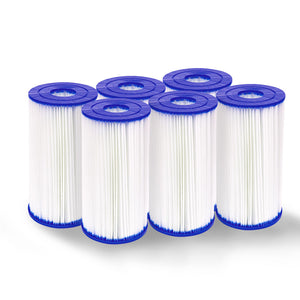 Set of 6 Bestway Pool Filter Cartridge