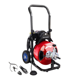 GIANTZ Electric Drain Cleaner Drain Master Rigid Plumbing Machine