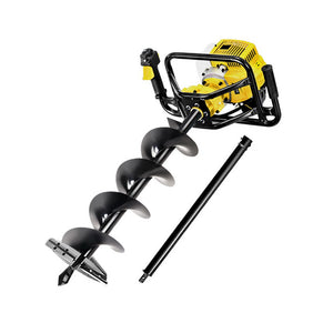 Giantz 88CC Petrol Post Hole Digger Auger Drill Borer Fence Earth Power 200mm