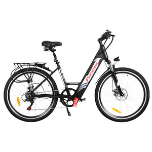 "Phoenix 26"" Electric Bike eBike e-Bike Mountain Bicycle City Battery Motorized Black"