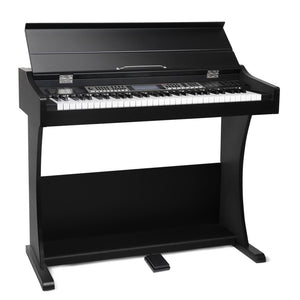 ALPHA 61-Key Electronic Digital Piano Keyboard Black