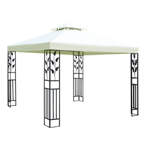 Instahut 3x3m Gazebo Party Wedding Event Marquee Tent Shade Iron Art Canopy