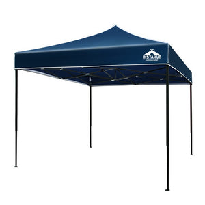 Instahut 3x3m Pop Up Gazebo Replacement Roof Outdoor Wedding Tent Garden Marquee Navy