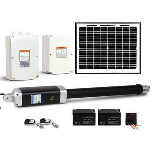 LockMaster Automatic Full Solar Power Swing Gate Opener Kit 600KG