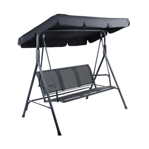 Gardeon Outdoor 3 Seater Swing Chair With Canopy