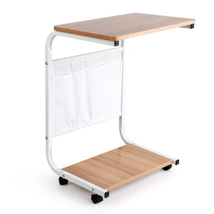 Portable Mobile Wooden Laptop Stand DesK