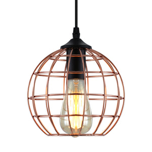 Artiss Pendant Light Metal Round Gold