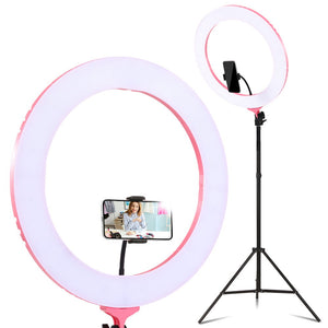 Embellir 19 Inch LED Ring Light - Pink
