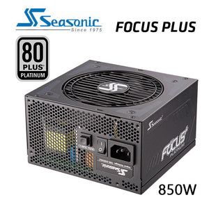 SeaSonic 850W FOCUS PLUS Platinum PSU (SSR-850PX)