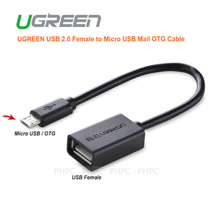 UGREEN USB 2.0 Female to Micro USB Male OTG Cable (10396)