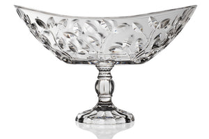 Laurus Centro Tavola Oval Centrepiece With Foot