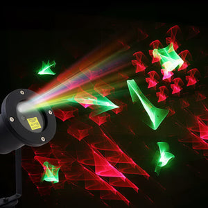 Jingle Jollys Laser Light Projector