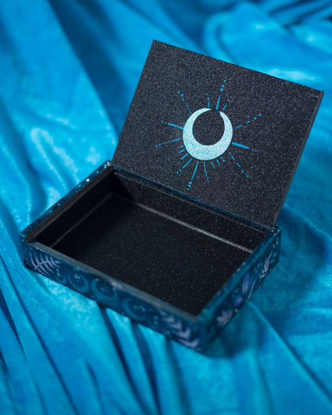 Moon Moth hand painted box