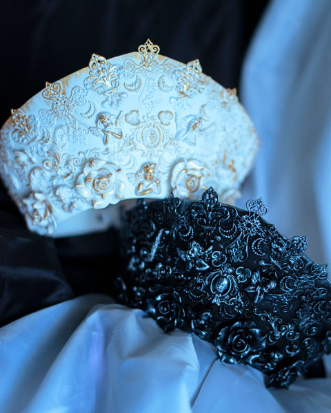 Black or White Cathedral gothic statement crown