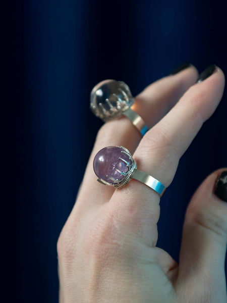 Orbuculum Crystal ball ring