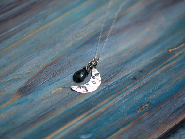 Moon phase birthday custom pendant - MoonDome - 2