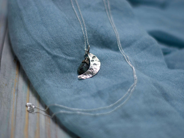 Moon phase birthday custom pendant - MoonDome - 3
