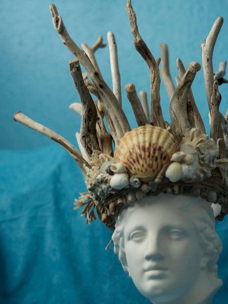 Mermaid of the North driftwood crown