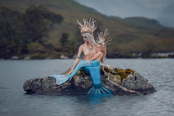 Little Mermaid of the North driftwood crown