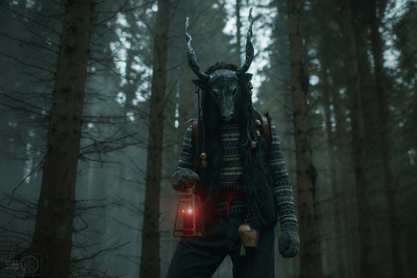 Krampus Mask goat demon cosplay