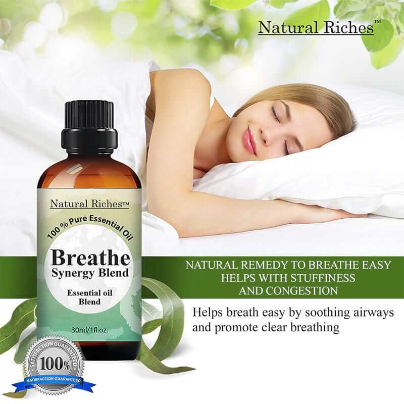 Breathe Essential Oils Synergy Blend