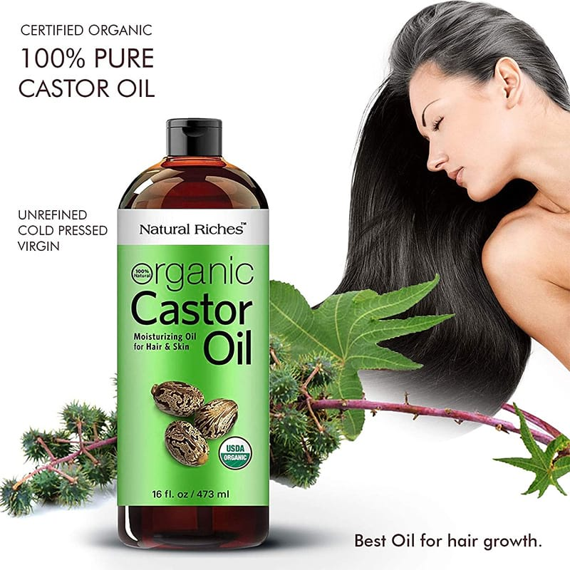 Organic Castor Oil Cold Pressed