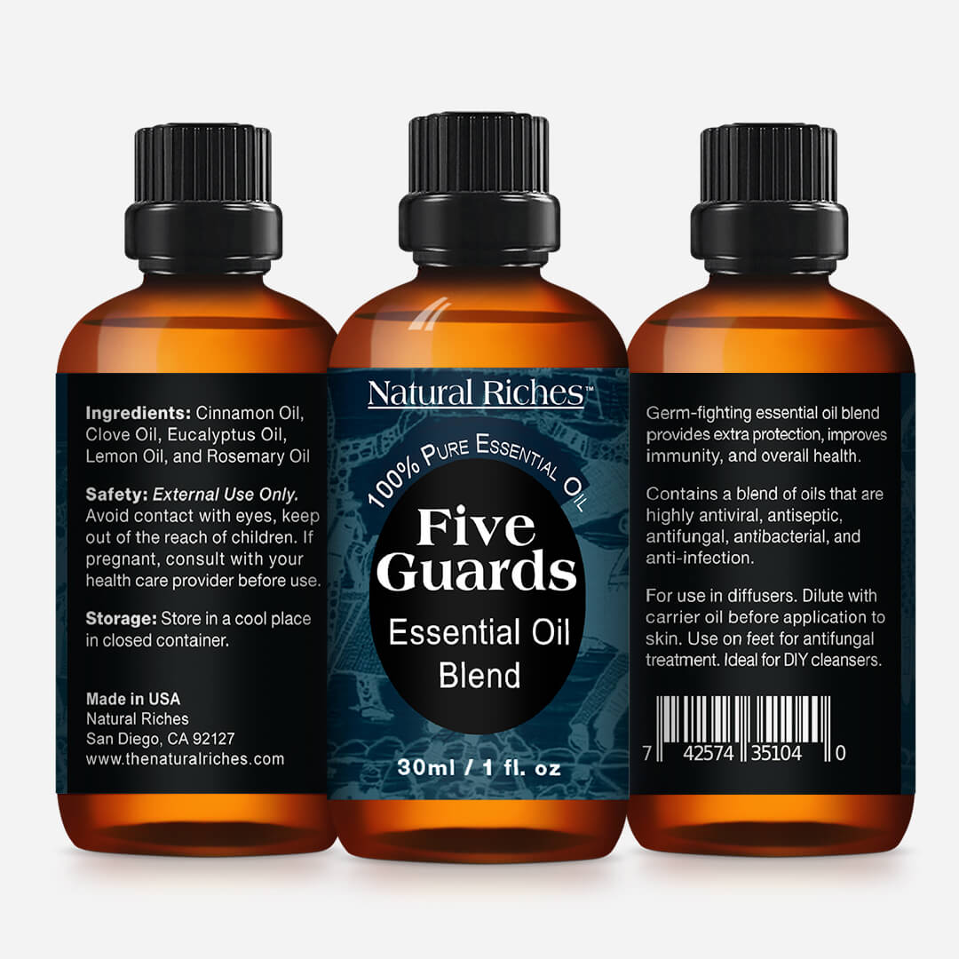 Five Guards Essential Oils Synergy Blend