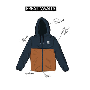 Why We Love It: Windbreaker Jacket | Break Down Walls