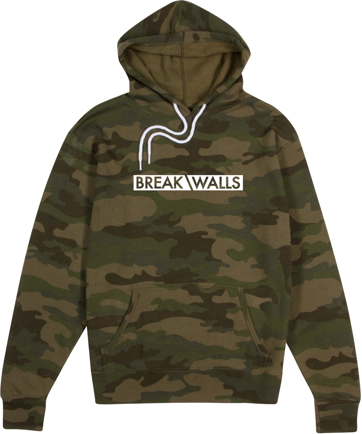 Classic Logo Hoodie - Forest Camo