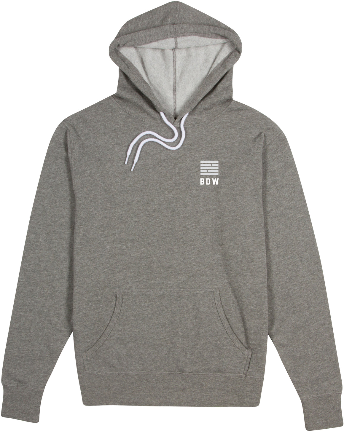 Essential Hoodie - Heather Grey
