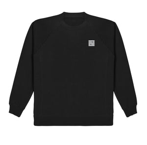 Logo Crewneck Sweater - Black