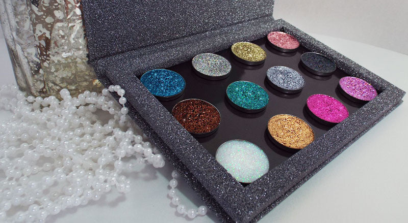 pressed glitter collections