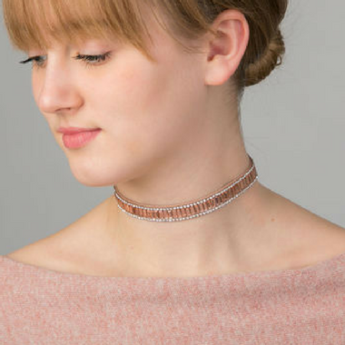 Choker With Sparkles