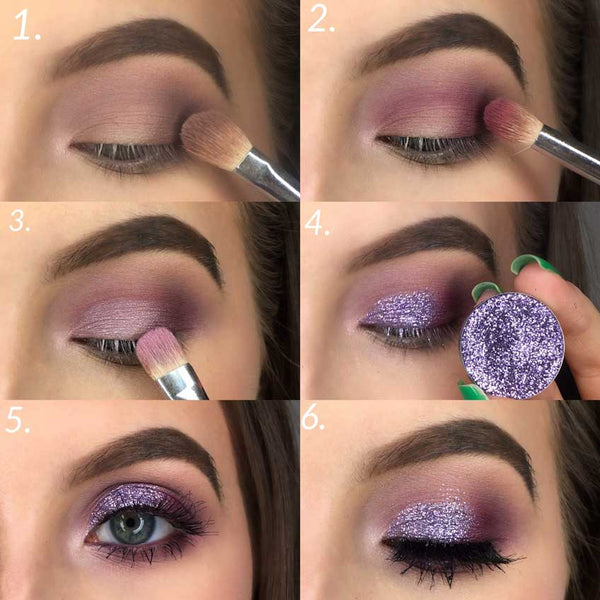 Day Look Using Glitter