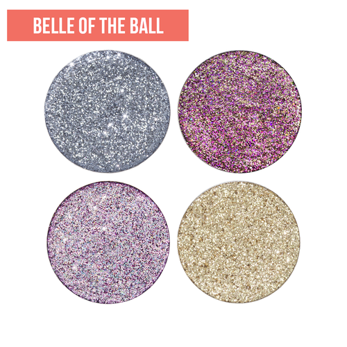 Belle of The Ball Pressed Glitter Set