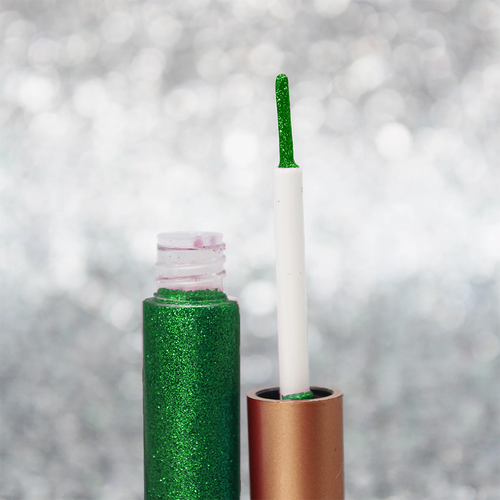 Gorgeous Green Precision Glitter Liner