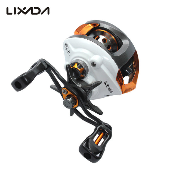 Lixada 12+1 Ball Bearings Right/Left Hand Baitcasting Reel Fishing Fly High Speed Fishing Reel with Magnetic Brake System , Catch Tracker - CatchTracker by FishingNotes | Fishing Reports | Tackle Warehouse