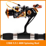HOT SALE!! 12+1 Bearing Balls Spinning reel fishing reel YA2000-YA5000 5.5:1 spinning reel casting fishing reel lure tackle line , Catch Tracker - CatchTracker by FishingNotes | Fishing Reports | Tackle Warehouse