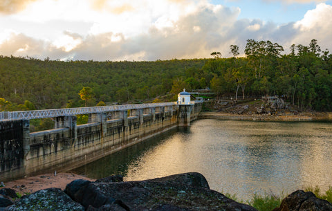 View of Mundaring Weir